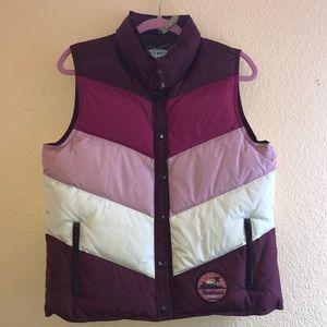 Old Navy Color blocked Puffer Vest